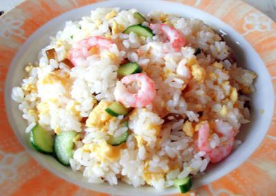海老の混ぜ寿司