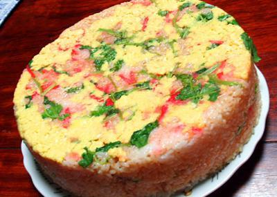 ライスバーガーケーキ