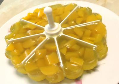 桃のマイパーラーゼリー