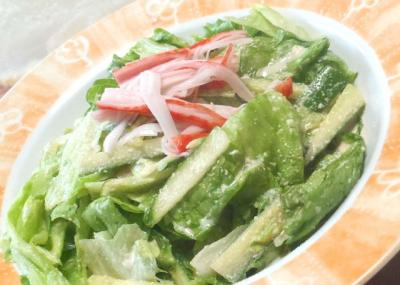 チーズレタスサラダ