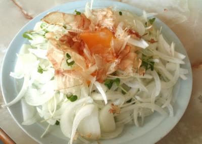玉ねぎのおかかサラダ