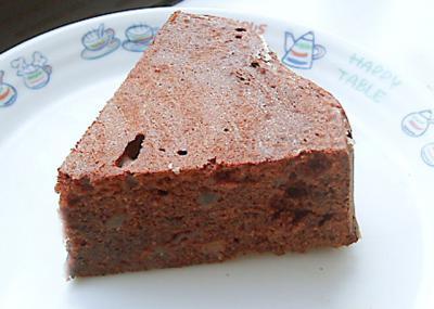 チョコフルーツケーキ