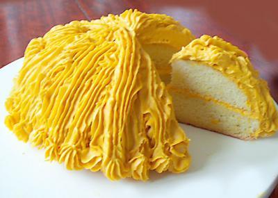 かぼちゃのドームケーキ