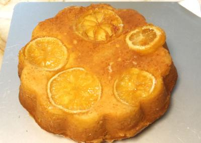 ハニーレモンケーキ