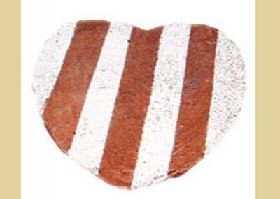 キャラメルハートケーキ