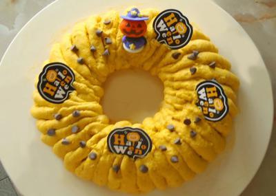 かぼちゃのリングチーズケーキ