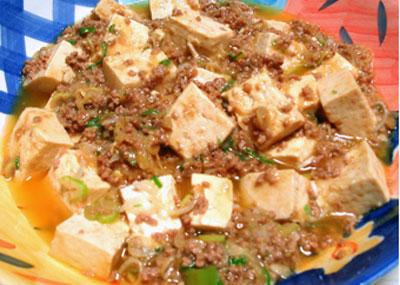 かんたん麻婆豆腐