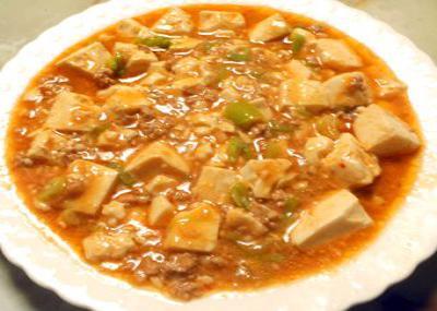 ピリ辛?麻婆豆腐