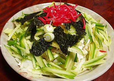 くずし豆腐の中華サラダ