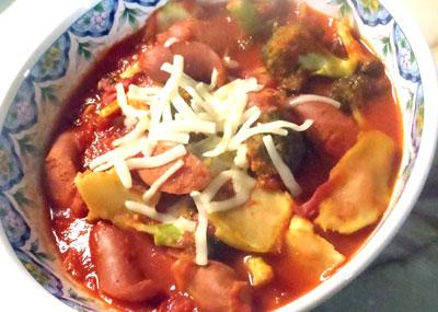 ブロッコリーのトマト煮