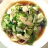 鶏肉とレタスの中華炒め