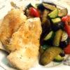 チキンと夏野菜のクレイジーソルト