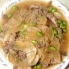 豚バラ大根の炒め煮