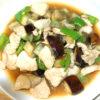 鶏とナスとピーマンの中華炒め