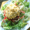レタスとタルタルのサラダ