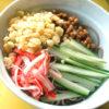 冷やし納豆ぶっかけ蕎麦
