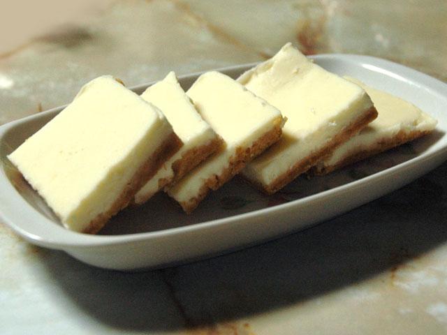 チョコとチーズの一口ケーキ