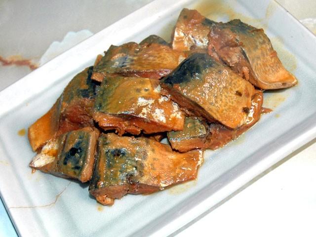 圧力鍋で鯖味噌煮