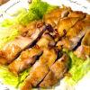 鶏モモ肉の味噌焼き