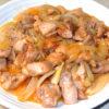時短エコレシピ!鶏もも肉と玉ねぎのマヨネーズ炒め♪
