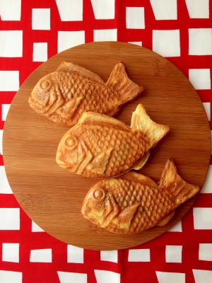 楽天レシピのススメ:お餅救済‼︎ HMで簡単たい焼き