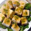 豆腐のユーリンチイ風!香味ソースでちょっと中華風♪