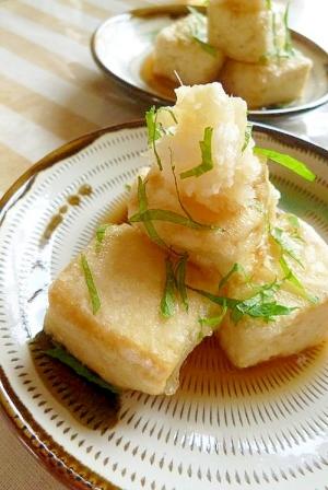 ~夏の揚げ出し豆腐~ :楽天レシピのススメ