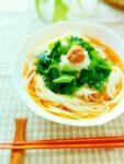 究極のサッパリ♪梅干しと大根おろしのぶっかけ素麺:楽天レシピのススメ