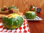 余ったミートソース♪リメイク料理パンプキングラタン:楽天レシピのススメ