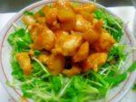 ささみとレンコンの味噌炒め丼:楽天レシピのススメ