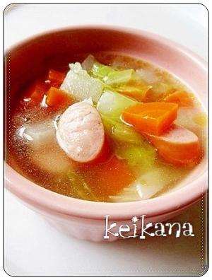 子ども大好き☆簡単&野菜たっぷり♡ポトポトポトフ♪:楽天レシピのススメ