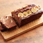 バナナたっぷり濃厚チョコパウンドケーキ:楽天レシピのススメ