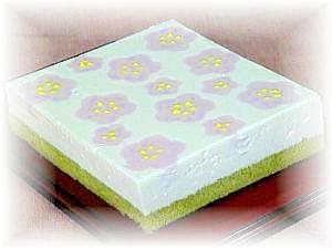 桃の花レアチーズケーキ:楽天レシピのススメ