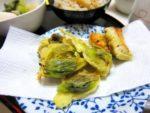 さっくさく、新緑ふきのとうの天ぷら:楽天レシピのすすめ