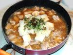 豆腐とおろしのさっぱり鍋!豆腐と鶏肉のおろし鍋♪