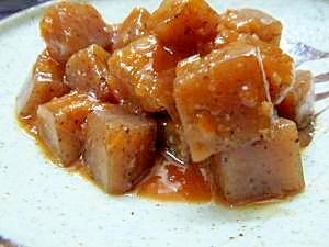 コンニャクの味噌ダレ和え:楽天レシピのすすめ