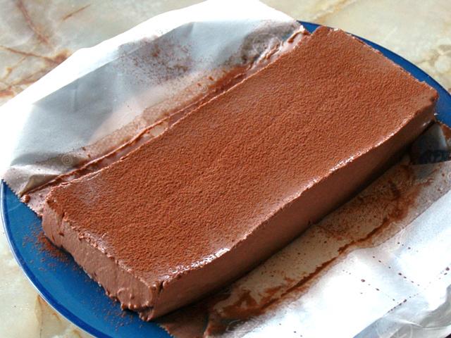 もっちりしっとり!混ぜて冷やすだけのチョコムース♪