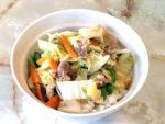 野菜たっぷり!白菜と牛肉の中華丼風♪