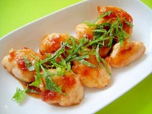 ササミの梅照り焼き:楽天レシピのすすめ
