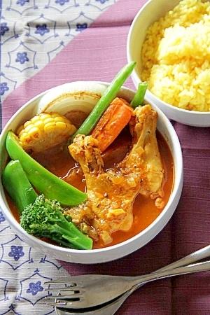 本格っぽいけど簡単『骨付きチキンのスープカレー』 :楽天レシピのすすめ