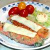 鮭でちょっとおしゃれに!生鮭のパセリ入りパン粉焼き