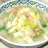 冷凍のシーフードミックスで!白菜の海鮮中華煮♪