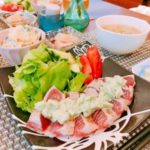アボカドソースで♡マグロのレアステーキ:楽天レシピのすすめ