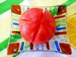 簡単レンジで♪トマトの皮の剥き方。:楽天レシピのすすめ