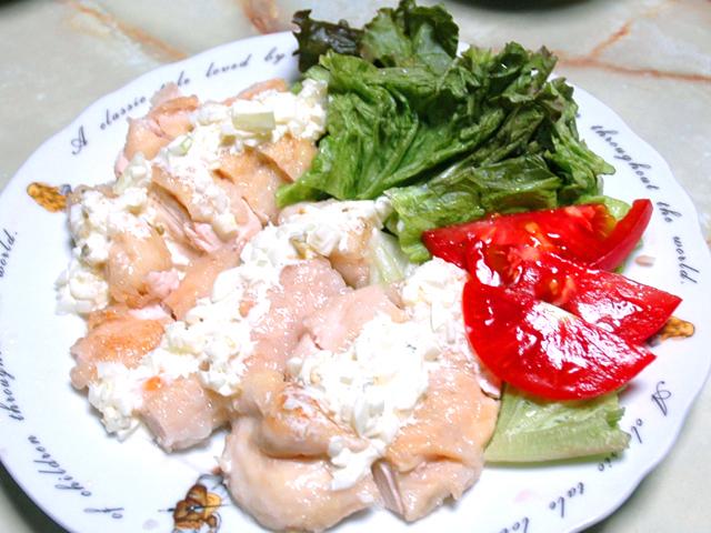 鶏が柔らかい?鶏胸肉のソテー&タルタルソース添え♪