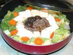 安い牛コマ肉と豆腐で!すき焼き風豆腐たっぷり鍋♪