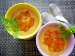 楽天レシピのすすめ:ゼラチンなしで固まる!柿のプリン
