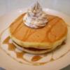 楽天レシピのすすめ:ホットケーキMIXで【ふわふわパンケーキ】