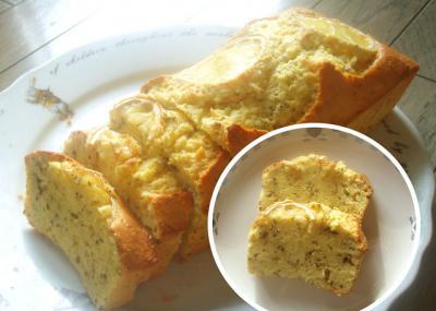 レモンティーパウンドケーキ