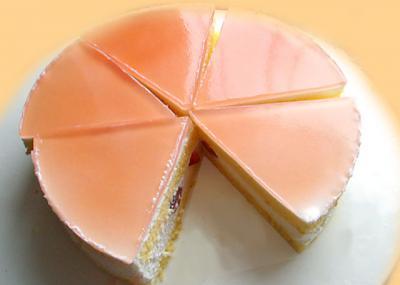 チェリーのムースケーキ